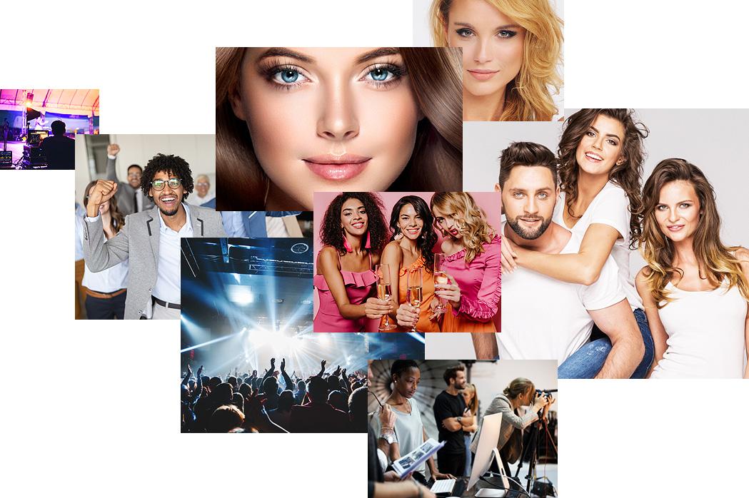 mitarbeiter und personal für events und festivals